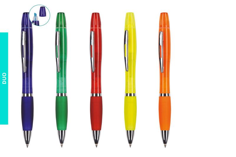Długopisy Duo