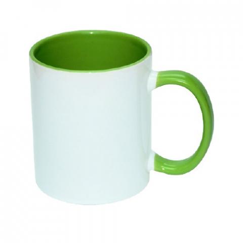 Kubek KPS zielony sublimacja