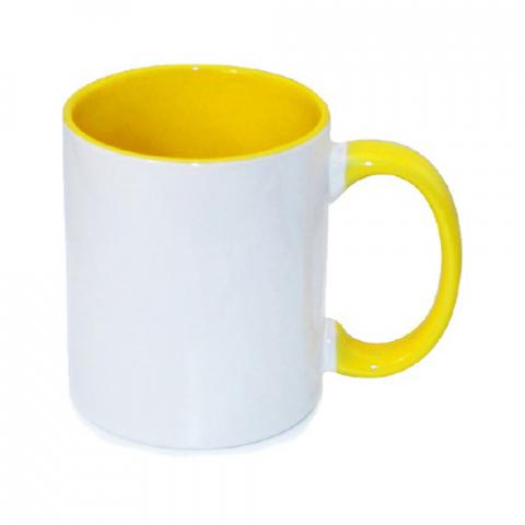 Kubek KPS żółty sublimacja