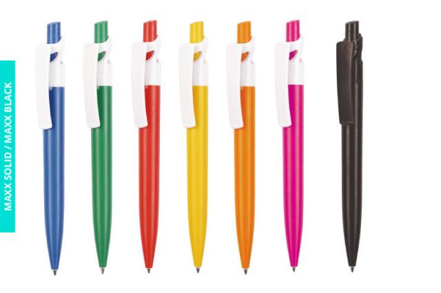 Długopis Maxx Solid i Maxx Black