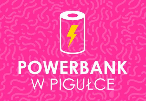 Power bank w pigułce