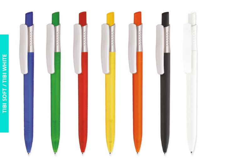 Długopis Tibi Soft i Tibi White