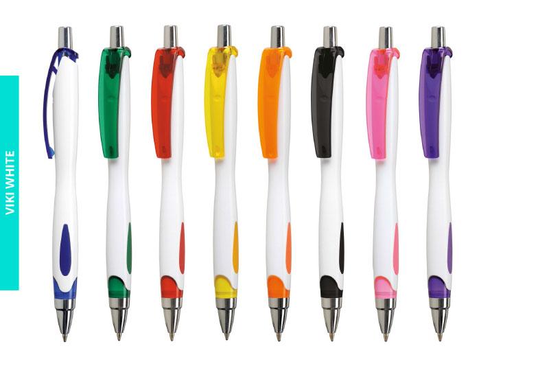 Długopis Viki White