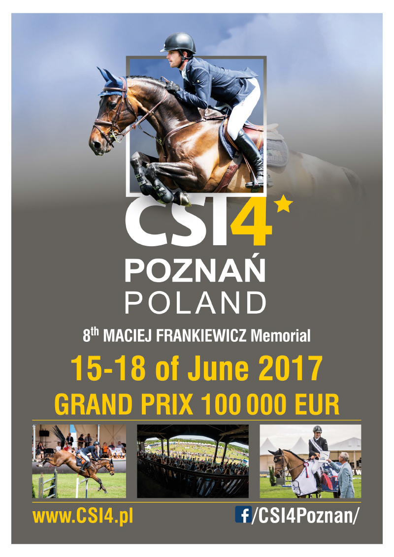 Reklama CSI4 Poznań do Grand Prix Magazine