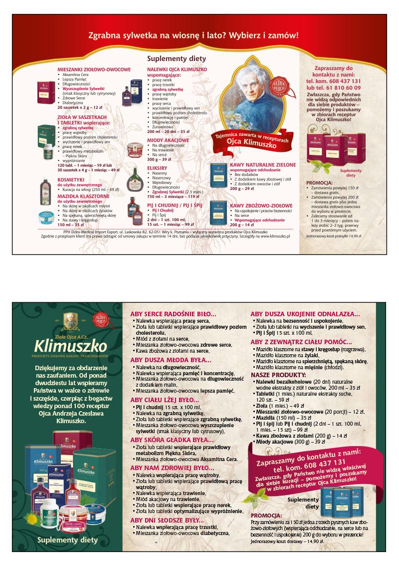 Eldex Medical  - reklamy 1/2 strony poziom