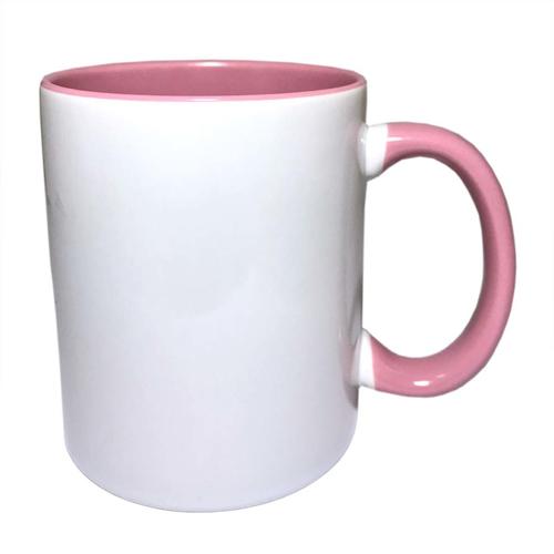 Kubek KPS różowy sublimacja